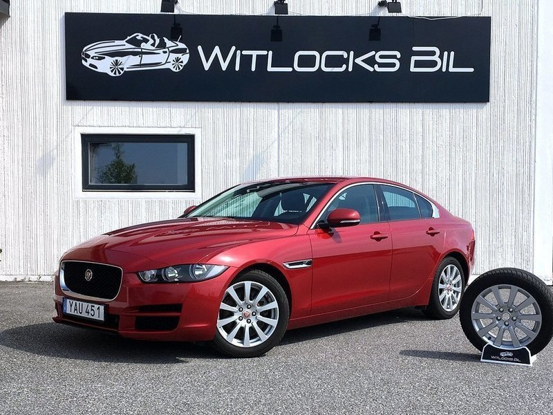 s ld jaguar xe 20d pure sedan 180 begagnad 2016 mil i trelleborg. Black Bedroom Furniture Sets. Home Design Ideas
