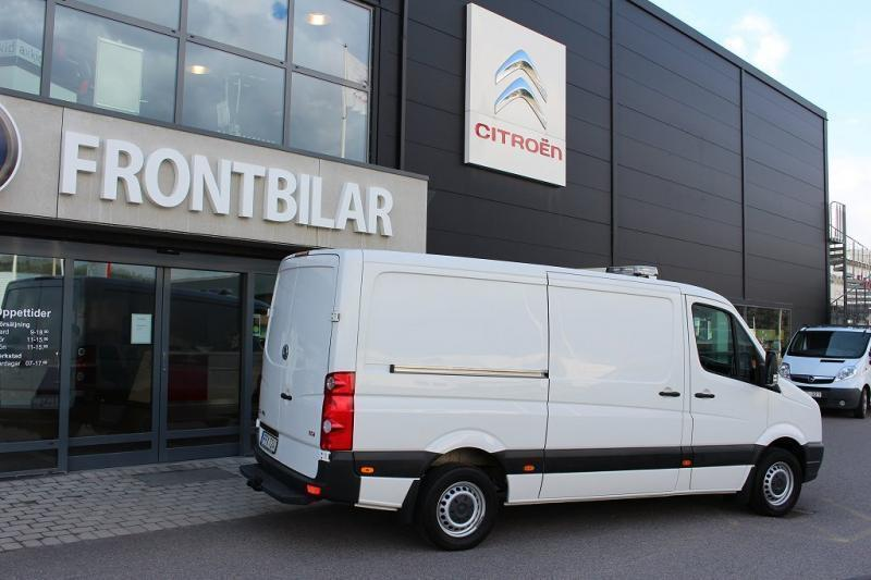 SÃ¥ld VW Crafter verkstadsinredning., begagnad 2014, 12.200 mil i ...