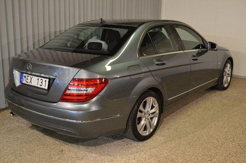 begagnad Mercedes C220 CDI Avantgarde (170hk)