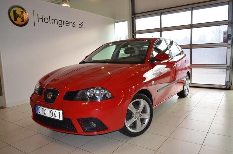 begagnad Seat Ibiza 1.6 16V 5dr (105hk)