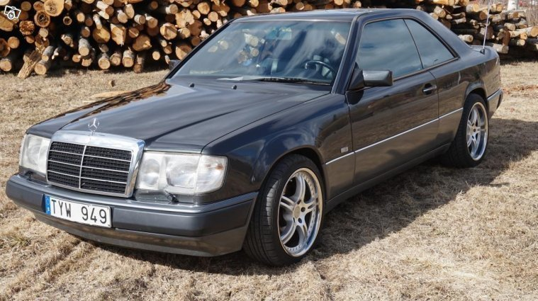 S ld mercedes e300 ce 24 220hk begagnad 1990 for Mercedes benz 1990 e300