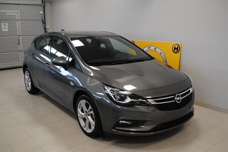 begagnad Opel Astra Dynamic 5d 1.4 Tu