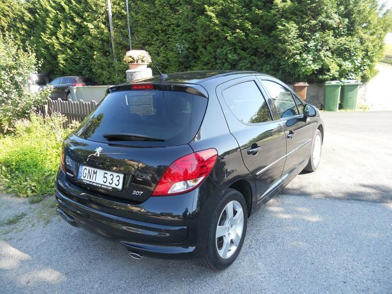 s ld peugeot 207 cc 1 6 hdi diesel begagnad 2010 mil i segeltorp. Black Bedroom Furniture Sets. Home Design Ideas