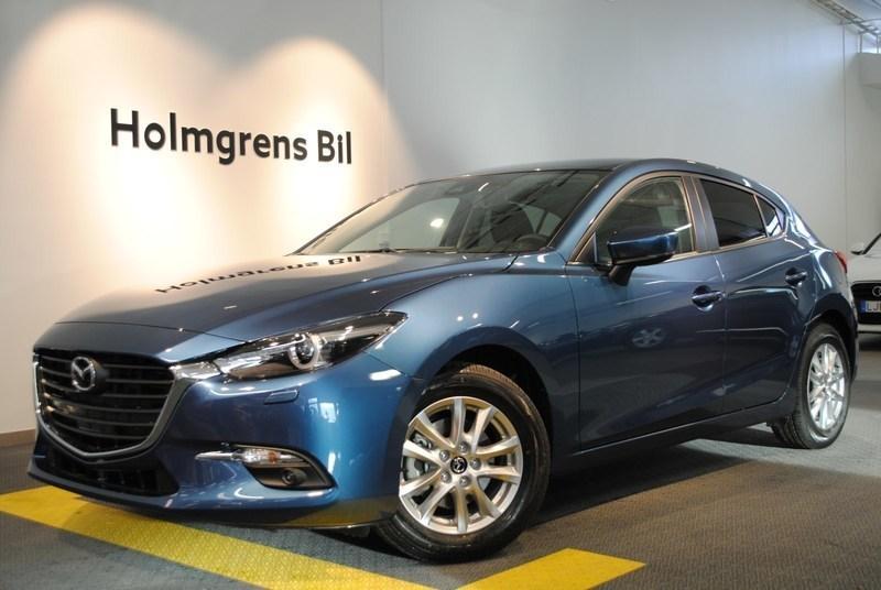 gebraucht Mazda 3 VISION 2,0 120 HK MANUELL
