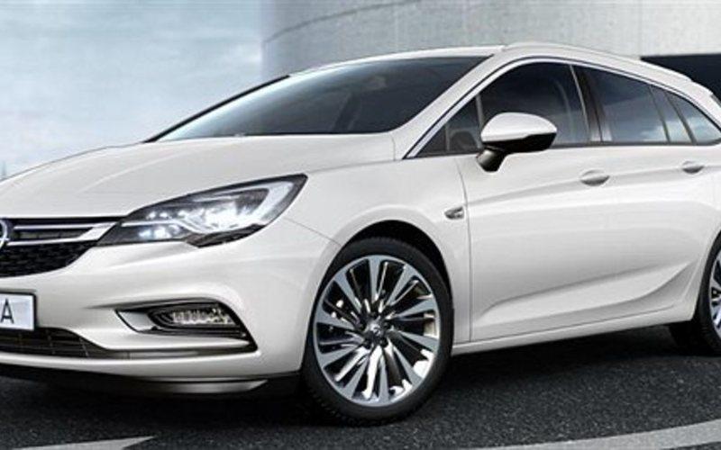 begagnad Opel Astra Sports Tourer Enjoy 1.4T / 125hk Pluspaket, Ergostolar, SU