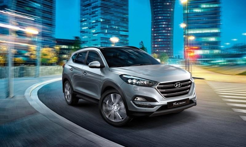 begagnad Hyundai Tucson 1.6 M6 2WD Active
