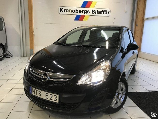 begagnad 1 2 twinport ecotec 2013 kombi 99 900 kr opel corsa 2013 km i v xj. Black Bedroom Furniture Sets. Home Design Ideas