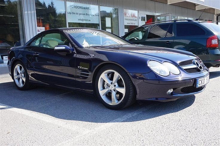 S ld mercedes sl600 v12 biturbo begagnad 2004 for Mercedes benz sl600 v12 biturbo