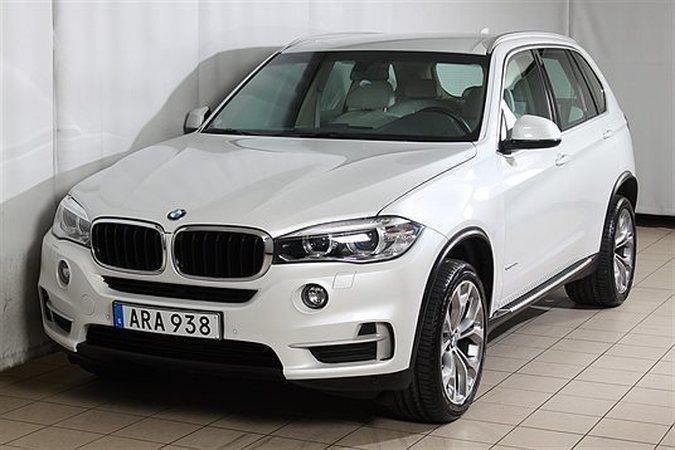 begagnad BMW X5 xDrive40d F15 313hk SUV