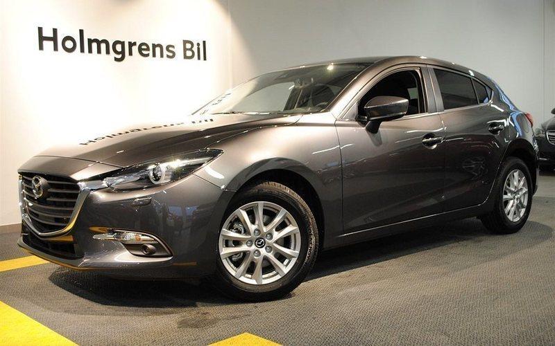 begagnad Mazda 3 VISION 2,0 120 HK MANUELL