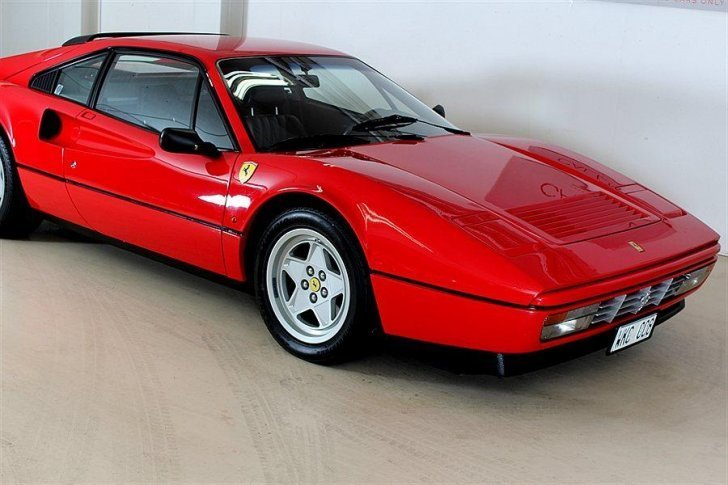 Såld Ferrari 328 GTB -86, begagnad 1986, 5.960 mil i Danderyd