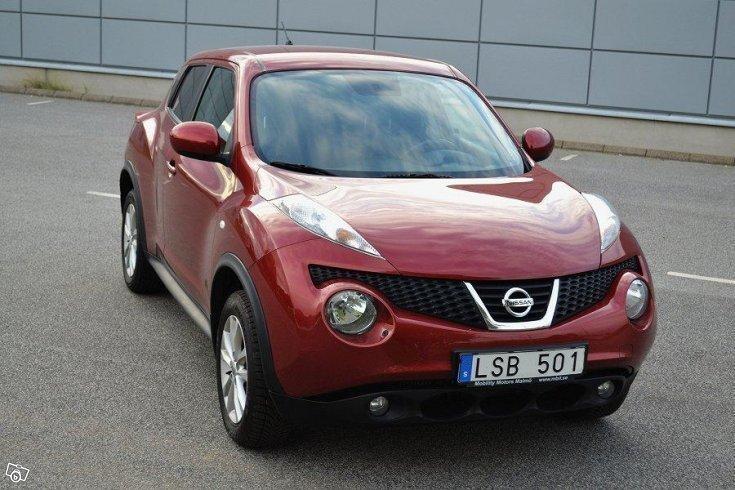 S ld nissan juke 1 6 sport edition begagnad 2012 for Nissan juke lila