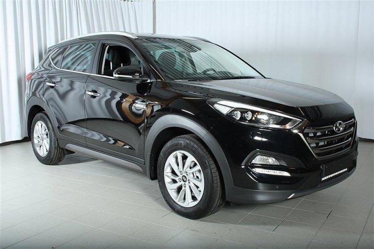 begagnad Hyundai Tucson 1.6 T D7-Aut 4WD ComfortPlus SUV