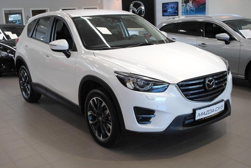 begagnad Mazda CX-5 VISION 2.0 165 HK 2WD MANUELL