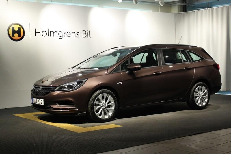 begagnad Opel Astra Sports Tourer Enjoy 1.4T / 125hk Pluspaket, Ergostolar, SUMMERSALE