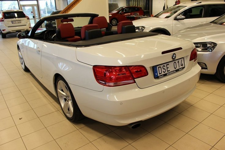 s ld bmw 120 cabriolet begagnad 2007 mil i v ster s. Black Bedroom Furniture Sets. Home Design Ideas