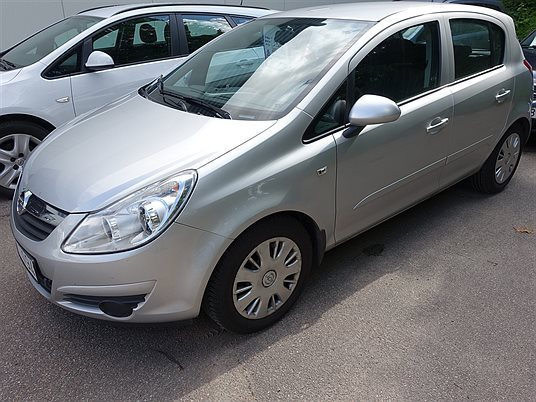 s ld opel corsa 5d enjoy 1 2 kombi begagnad 2008 mil i kisa. Black Bedroom Furniture Sets. Home Design Ideas