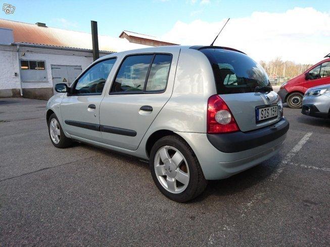 Såld Renault Clio Ii Bästa Skick I Begagnad 2001 9 500 Mil I