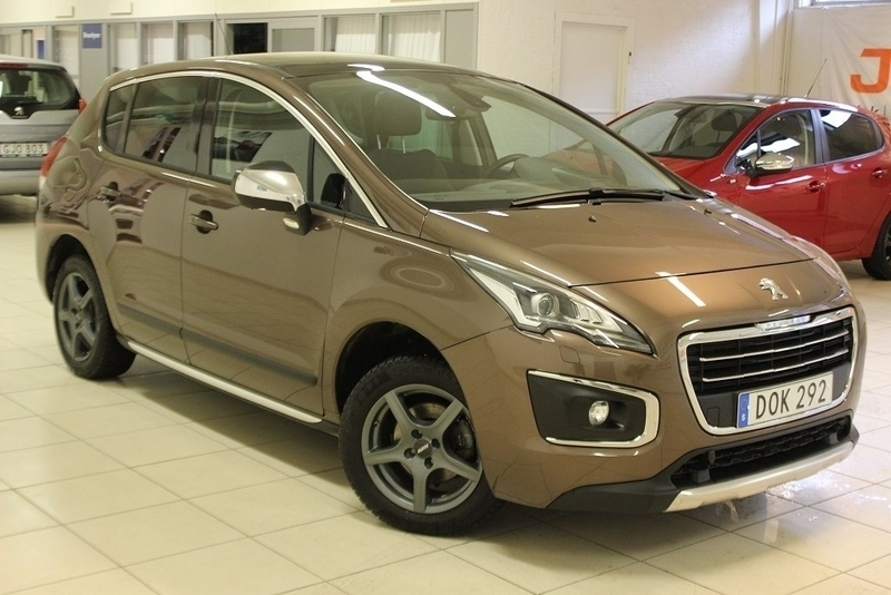 begagnad Peugeot 3008 Allure 1,6 HDi - EXTRAUTRUSTAD 2015, Halvkombi 169 900 kr