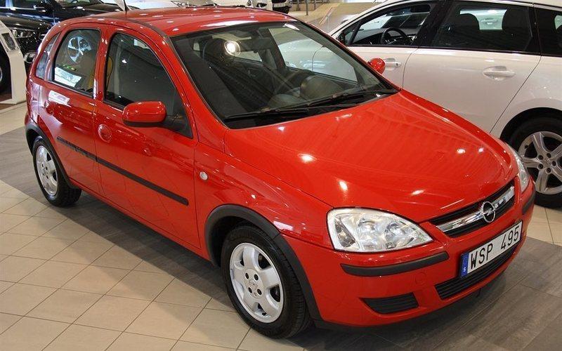 begagnad Opel Corsa 5D 1,2