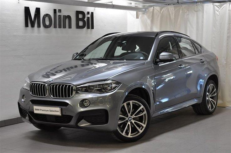 S 229 Ld Bmw X6 40d Xdrive M Sport Begagnad 2016 600 Mil I