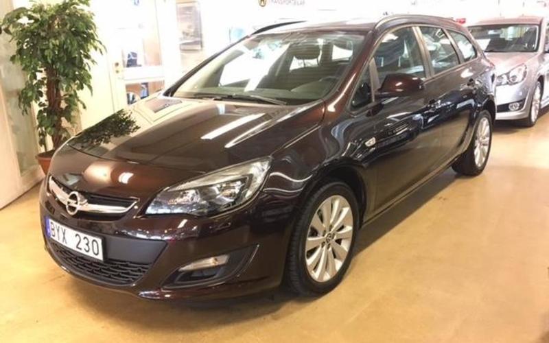 begagnad Opel Astra Active Kombi 1.6 MT5