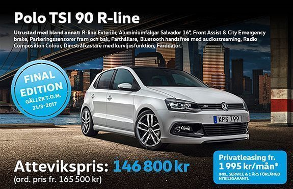 vw polo privatleasing