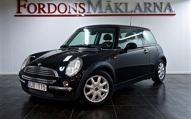 s ld mini cooper 1 6 automat 115hk begagnad 2003 mil i stockholm. Black Bedroom Furniture Sets. Home Design Ideas