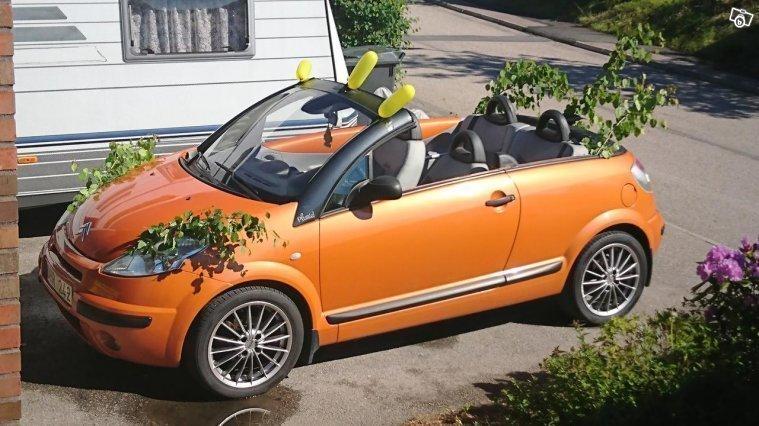 s ld citro n c3 pluriel cabriolet begagnad 2003 mil i ludvika. Black Bedroom Furniture Sets. Home Design Ideas