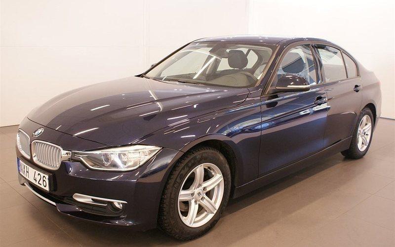 begagnad BMW 318 d Sedan Luxury Line Aut