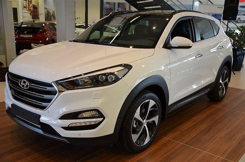 begagnad Hyundai Tucson 2.0 CRDi A6 4WD Premium Launch