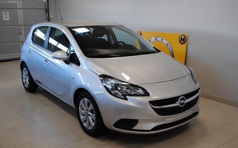 begagnad Opel Corsa Enjoy 5d 1.4 ECOTEC 2017, Halvkombi 145 700 kr