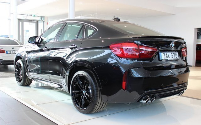 S 229 Ld Bmw X6 M Black Fire Edition 2 Begagnad 2018 1 Mil