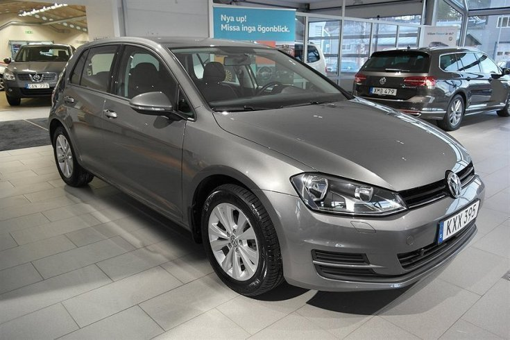 s ld vw golf golf 1 2 tsi 110 vw1 begagnad 2015 mil i tran s. Black Bedroom Furniture Sets. Home Design Ideas