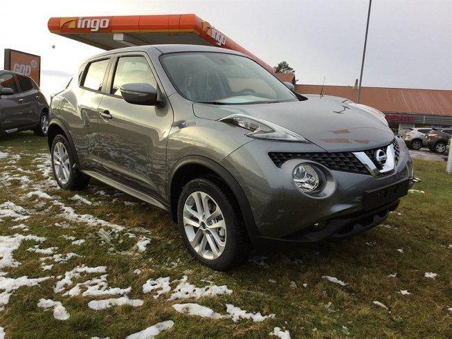 S ld nissan juke 117 cvt acenta 2w begagnad 2016 0 mil for Nissan juke lila