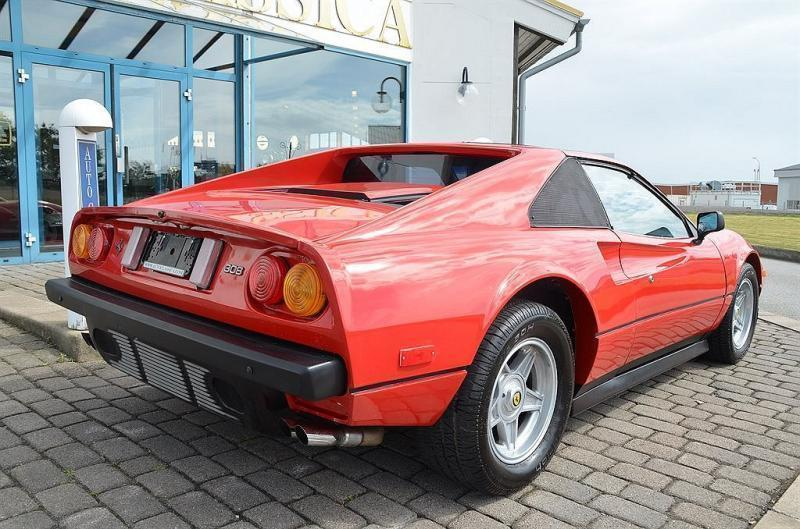 Såld Ferrari 308 GTB -86, begagnad 1986, 1 mil i Skåne - AutoUncle