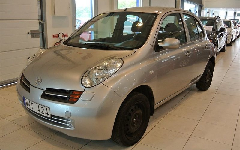 begagnad Nissan Micra 1.2 5dr (80hk) Automat