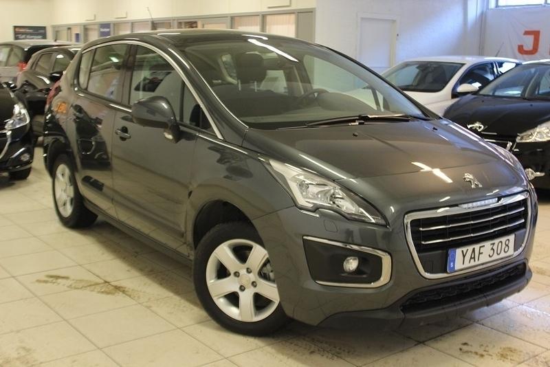 begagnad Peugeot 3008 Active+ 1,6 BlueHDi 120hk Automat - VISNINGSEX