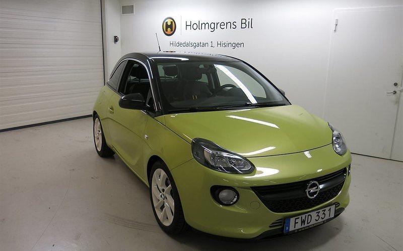 begagnad Opel Adam 1.0 ECOTEC 115 hk in/S
