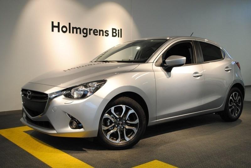 begagnad Mazda 2 1.5 90hk 5man Vision Plus-paket