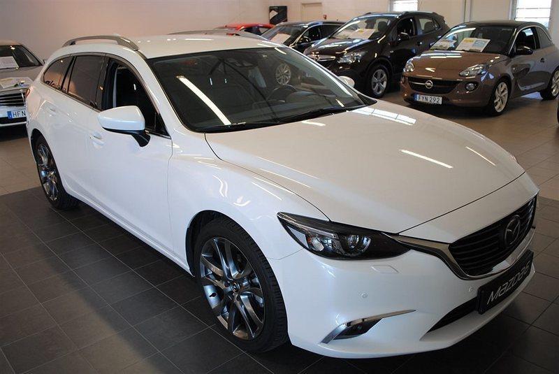 begagnad Mazda 6 OPTIMUM 2.2 DE 175 HK AWD AUTOMAT