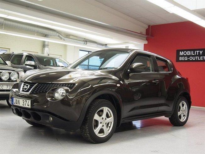 S ld nissan juke acenta motorv r begagnad 2011 for Nissan juke lila