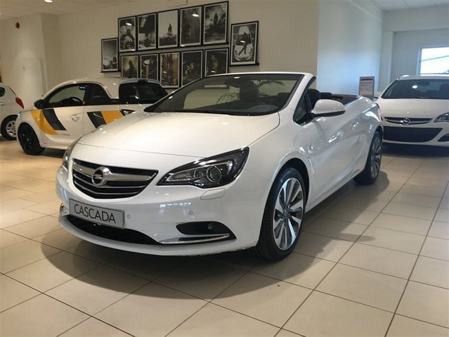 begagnad Opel Cascada 1.6 Turbo Ecotec 170 hk (AT6)