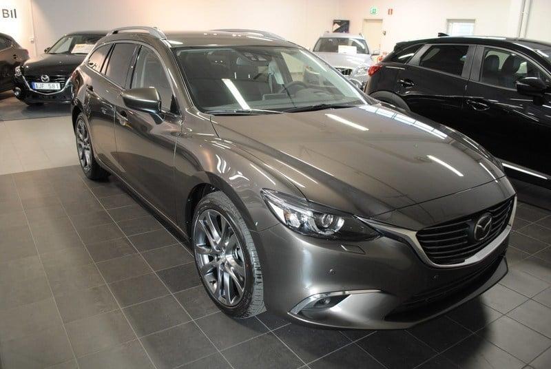 begagnad Mazda 6 WAGON 2.2 DE 175 HK AUT AWD OTIMUM