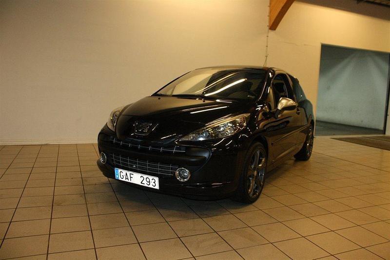 begagnad Peugeot 207 1.6 Turbo (174hk)