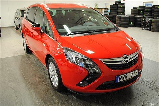 begagnad Opel Zafira Tourer BUSINESS 5 Minibuss