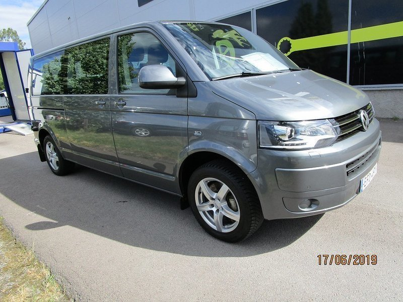 s ld vw caravelle l ng t5 2 0 tdi begagnad 2014. Black Bedroom Furniture Sets. Home Design Ideas