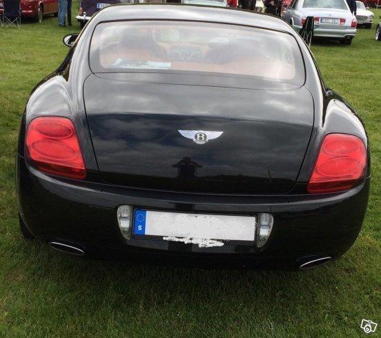 Såld Bentley Continental GT Mullin., Begagnad 2006, 8.749