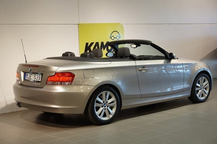 s ld bmw 120 cabriolet d 188hk e88 begagnad 2009 mil i v xj. Black Bedroom Furniture Sets. Home Design Ideas