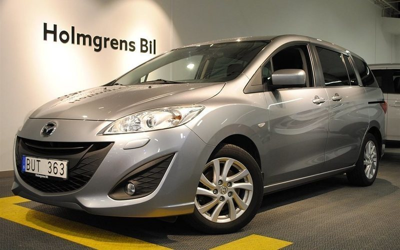 begagnad Mazda 5 116HK ADVANCEPLUS * 7-SITS *